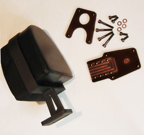 Picture of RCU07030 backrest and mounting parts