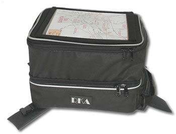 RKA SuperSport tank bag - expanded