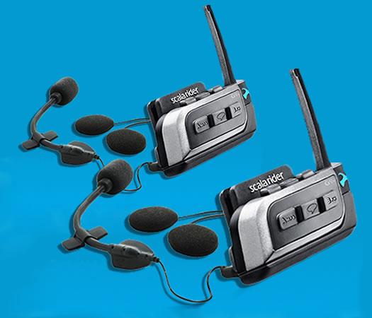 Communication System - Scala Rider G9x Powerset - by Cardo Systems