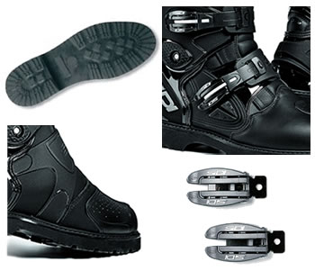 Components of the Sidi Adventure Rain Boot