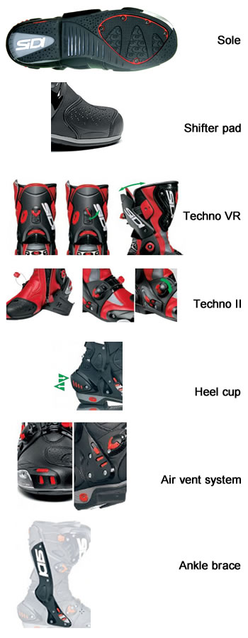 Vortice Boot features.