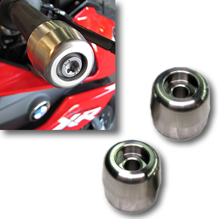 Handlebar End Weights - BMW S1000XR - by Suburban Machinery