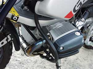 Crashbars - BMW R1150GS Adventure - by Touratech