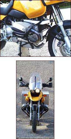 Crash Bars - BMW R1150GS - by Touratech