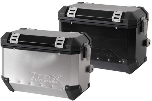 TraX Alu-Box Evo 45 Liter Side Case - Left - by SW-Motech