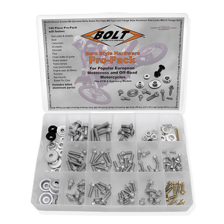Hardware - Euro Style Pro-Pack - BMW G450x Motorcycle - by Bolt™