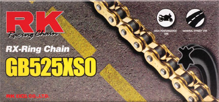 Chain - Drive Chain - BMW F800GS F650GS Twin - by RK