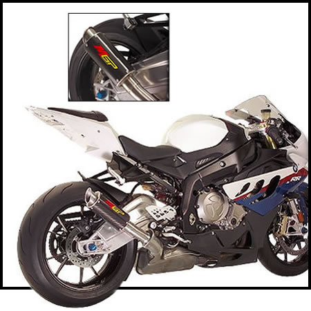Exhaust - Slip-on Exhaust - Carbon Fiber - BMW S1000RR - by HotBodies