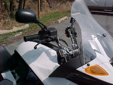 Handlebar - Adjustable Handlebars - BMW K1200RS Motorcycle - by