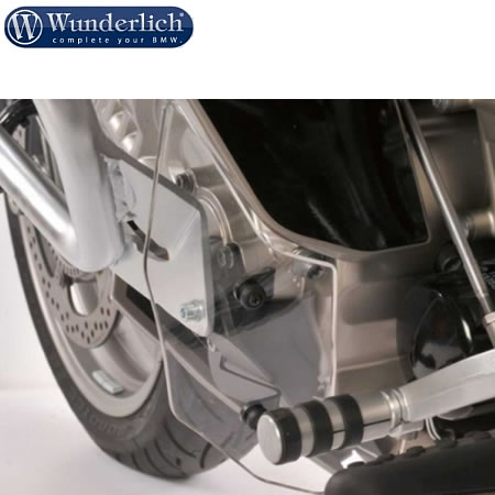 Foot Protector - K1600GT/GTL - Clear - by Wunderlich - 8110526