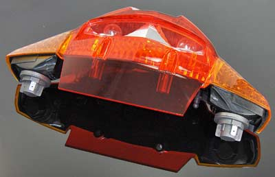 Tail Light K1200GT (06-08) and K1300GT - BMW OEM - 63217688636