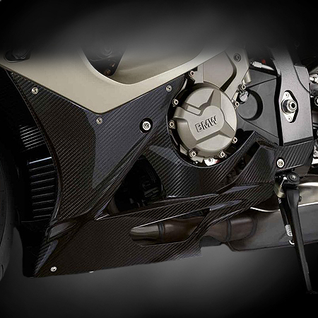 Carbon Fiber - HP Engine Cover - S1000RR - by BMW - 71607722464