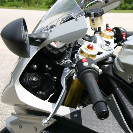 Handlebars - TracStar Replacement - BMW S1000RR - by Helibars