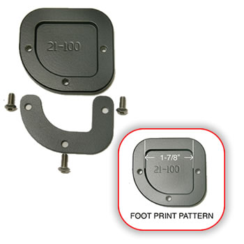 Sidestand Foot for standard height F650GS Twin