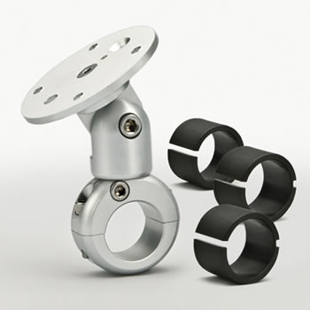 Adjustable Handlebar Techmount - Silver