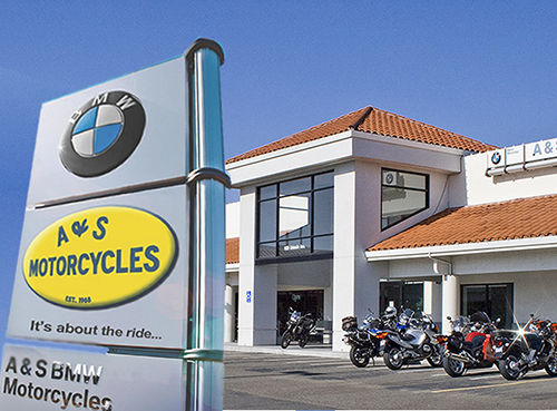 A&S BMW Motorcycles Storefront Photo