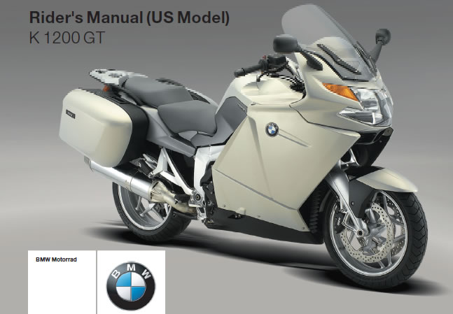 # Free Riders Manual Download - BMW K1200GT (2006-08)